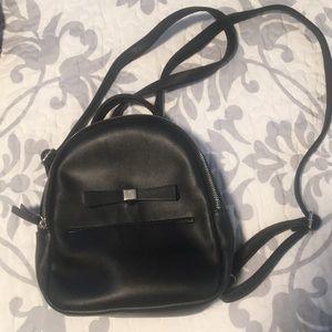 Nine West Mini Black Backpack